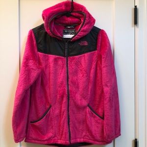 🎉HP🎉Girls THE NORTH FACE Fleece Zip Hoodie NWOT